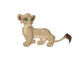 First Pixel Lioness by Chan98