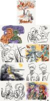 SketchDump by Microbluefish