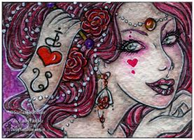 ACEO :: Think-ing- Valentine by StefaniaRusso
