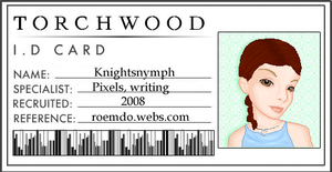 New DA ID: March 2010 by KnightsNymph