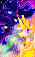 Princess Sisters by Wendy-the-Creeper