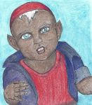 Baby Drow by WarriorNGoddess
