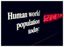 human population by FailingPerfection