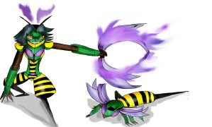 Transformers: Recoded- Waspinator by Skylight22