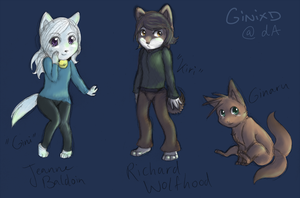 Chibis by GiniXD