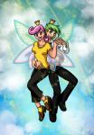 Fairly Odd Couple by mystryl-shada
