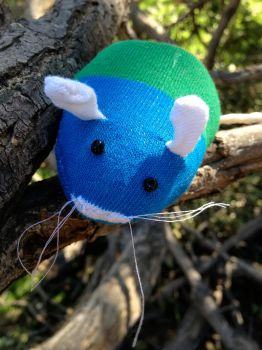 Evan the Sock Mouse by DianaArtimis