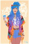Cool Girl_main colors by dimary