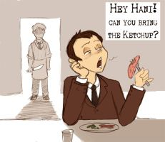 Annoying Hannibal -2 by Arkham-Insanity