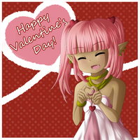Coral: Happy Valentine's Day! by Sweet-DaYo