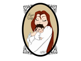 Mother and child by TheSpaceCowgirl