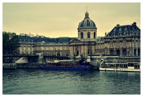 Paris, seine. by etr-wroclove