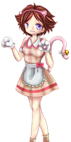 Collab: Cute Maid Mime by Candy-DanteL