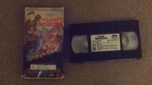 My 1989 VHS of The Land Before Time by NinjaTurtleFangirl