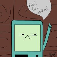 "Beemo ""get naked"" by invaaderzim"