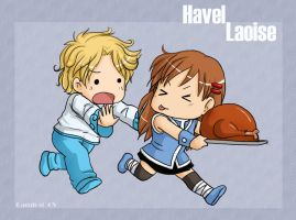havel and laoise by camlost