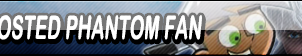 Frosted Phantom Fan Button (Request) by Kyuubi-DemonFox