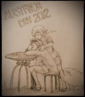 Australia Day 2012 by Firebird-in-Forest