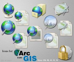 ArcGIS Replacement Icons by ssx