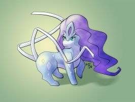 Kiriban 19.000 - Baby Suicune by Hairac