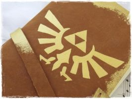 Triforce Leather Journal by ChrisOnly
