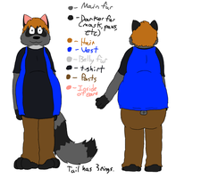 Frank Anthro Reference 2011 by Frank-Raccoon