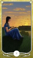 Seven of Pentacles by Shegon