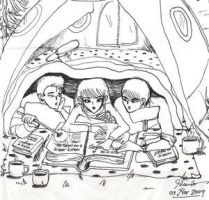 cozy tent by keofome by HogwartsArt