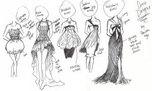 Themed Dress Designs by ember-snow