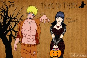 Halloween NaruHina - Trick or Treak? by IoHyuuga