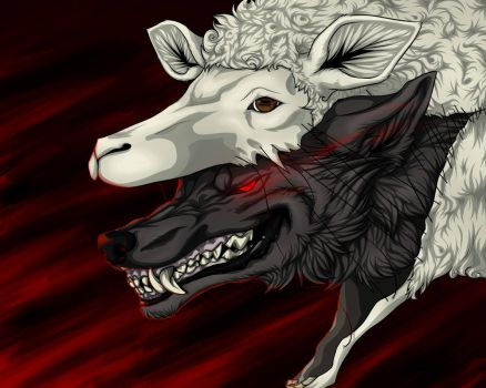 Wolf In Sheep's Clothing [Music Fanart] by Mg-Wolfore