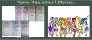 Draw It Again - Fruit Precure by rainebowbright