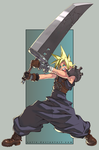 Cloud - Final Fantasy VII by satie