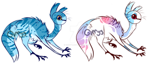 Unnamed species adopts CLOSED + COMPETITION by Girryy