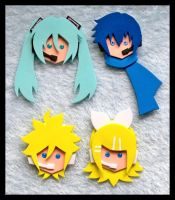 Pins - Vocaloid by GwydionAE