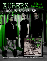 xUBERx's Rogue State EP Flyer by Valdyr