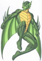 OCD- Dragonheart, the Dragon Superhero by RobertMacQuarrie1