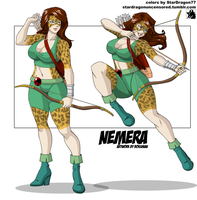 Coloring Commission - SJD83 - Nemera by StarDragon77
