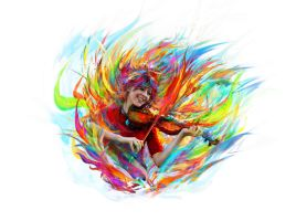Lindsey Stirling by Ururuty
