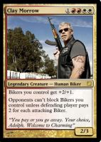 Clay Morrow MTG by southee