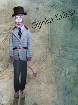 Gijinka Tailcat by Wolf-Tracks