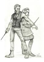 Bill and Fleur by Catching-Smoke
