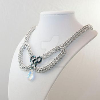 Full Persian Bow Necklace by chef-chad