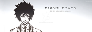 Happy Birthday Hibari! by juu-daime