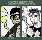 meme before and after 2010-2015 Starman by theEyZmaster