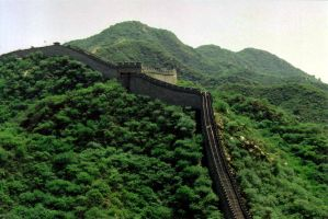 Chinese Great Wall by jinhuang