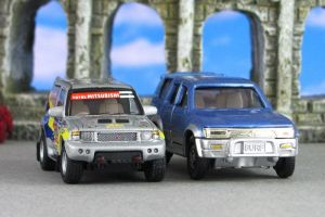 Hongwell and Tomica SUVs zf by Deanomite17703