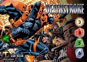 Deathstroke (Slade Wilson) Character by overpower-3rd