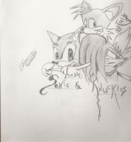 Sonic and Pals by Zelras