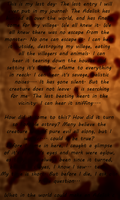 The last letter by Seeraphine